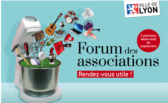 forum des associations Lyon8