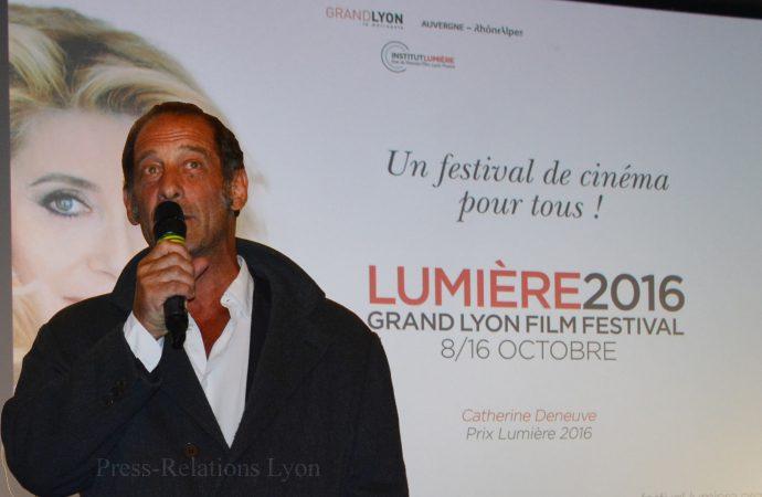 Festival Lumière 2016 : Vincent Lindon présente Hôtel du Nord au UGC Ciné Cité Confluence