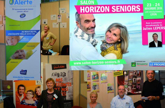 Salon horizon séniors 2016 – le village de 36 associations