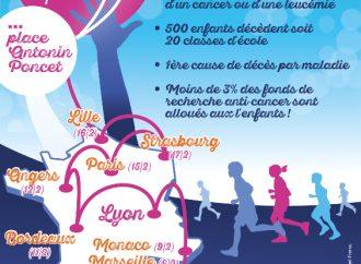 Journée Internationale du cancer de l'enfant : une flamme olympique en l'honneur des enfants malades